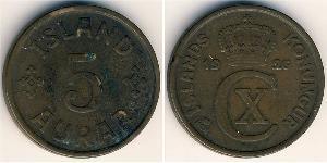 5 Aurar Iceland Bronze