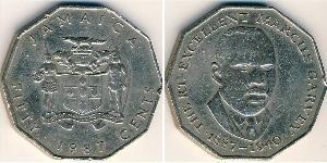 50 Цент Ямайка (1962 - ) Никель/Медь