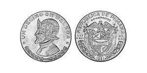 1/10 Бальбоа Республика Панама Серебро Нуньес де Бальбоа, Васко (1475 – 1519)