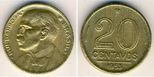 20 Centavo 巴西 青铜/铝