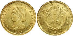 8 Peso Republic of Colombia (1819 - 1831) Gold