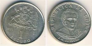 1 Escudo Chile Kupfer/Nickel