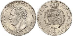 1 Талер Саксен-Веймар-Эйзенах (1809 - 1918) Серебро Карл Фридрих Саксен-Веймар-Эйзенахский