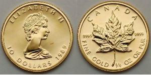 10 Dollar Canada Gold Elizabeth II (1926-)