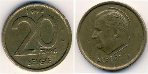 20 Franc Bélgica