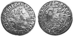12 Kreuzer Sacro Romano Impero (962-1806) Biglione Argento