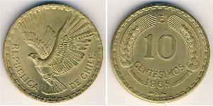 10 Centesimo Chile Bronze