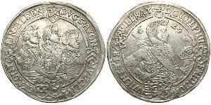 1 Thaler Germany Silver