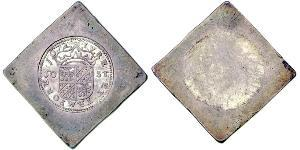 50 Stuiver Dutch Republic (1581 - 1795) Silver