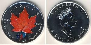 5 Dollar 加拿大 銀