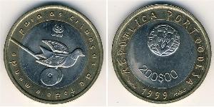 200 Escudo Republica Portuguesa (1975 - ) Bimetall