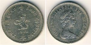 1 Dollar Hong Kong Copper/Nickel