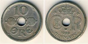 10 Ore Danimarca Rame/Nichel