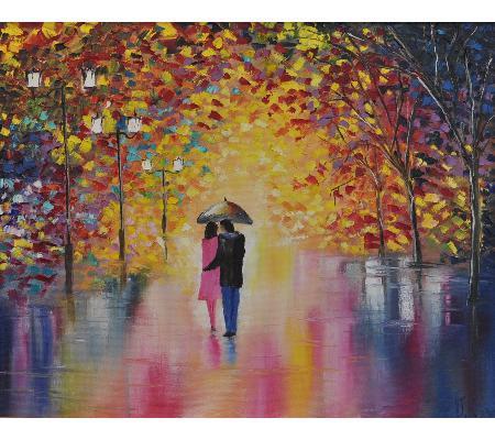 Romance - oil painting