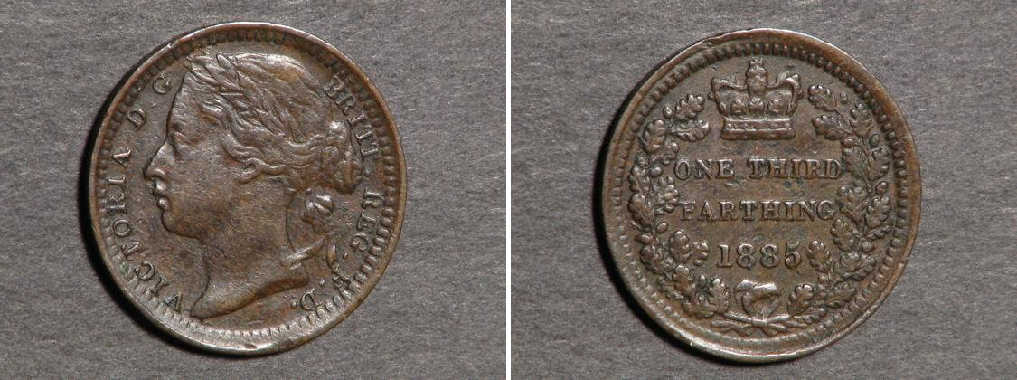 1 3 farthing 1868 united kingdom of great britain and - Coin de finition plinthe ...